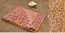 Aarvi ☘ Block Printed Cotton Saree ☘ 12