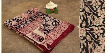 Aarvi ☘ Block Printed Cotton Saree ☘ 17