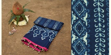 Navri ✼ Block Printed Cotton Dupatta { 20 }