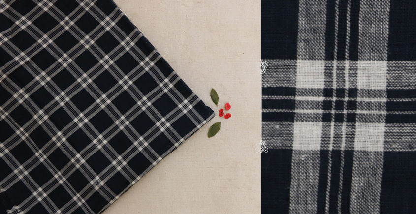 Handwoven Khadi Cotton Fabric ☘ E { Per Meter }