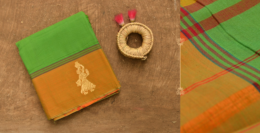 Vasant ✡ Gollabhama Cotton Saree ✡ 06