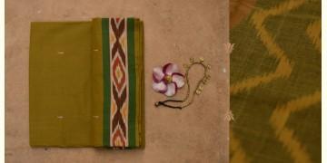 सूती ❂ Ikat Cotton Saree ❂ { 13 }