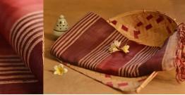 Posies of the wild ᚒ Bhagalpuri ᚒ Row Silk Saree ~ M