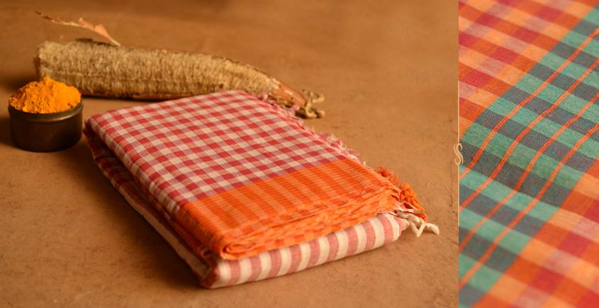 हरिद्रा ▦ Gamcha Cotton Sarees ▦ 8