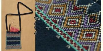 Tanka * टाँका ~ Embroidered Tablet Sling bag ❁ 6 ❁ - B