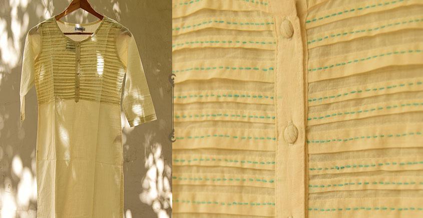 फुहार / Fuhar ✾ Handwoven Cotton Kurta ✾ 2