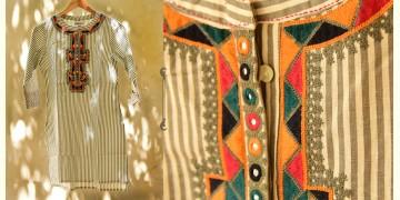 फुहार / Fuhar ✾ Handwoven Cotton Kurta ✾ 6