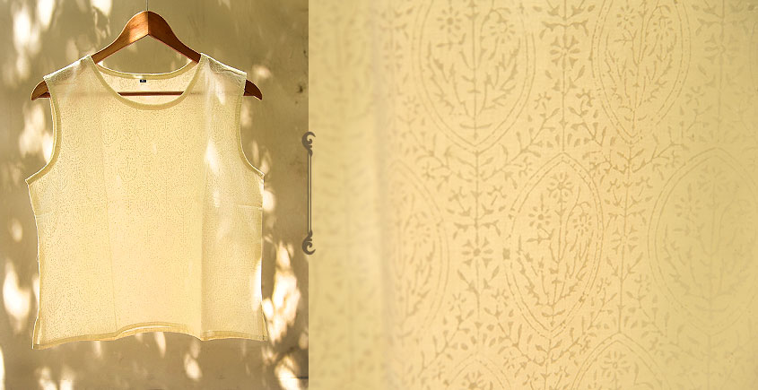 फुहार / Fuhar ✾ Block Printed Cotton Top ✾ 7
