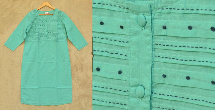फुहार / Fuhar ✾ Handwoven Cotton Kurta ✾ 46