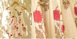 फुहार / Fuhar ✾ Block Printed Cotton Dress { Kids } ✾ 1
