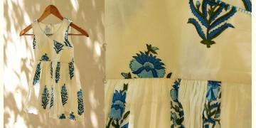 फुहार / Fuhar ✾ Block Printed Cotton Dress { Kids } ✾ 2
