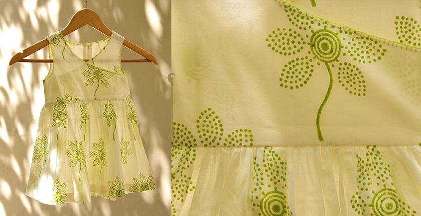 फुहार / Fuhar ✾ Block Printed Cotton Dress { Kids } ✾ 3