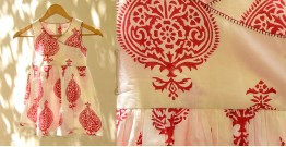 फुहार / Fuhar ✾ Block Printed Cotton Dress { Kids } ✾ 5