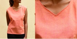 छबीली ♠ Handwoven Cotton Top ♠ 1