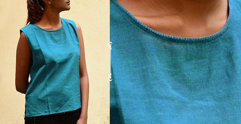 छबीली ♠ Handwoven Cotton Top ♠ 3