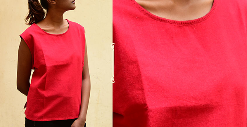 छबीली ♠ Handwoven Cotton Top ♠ 5