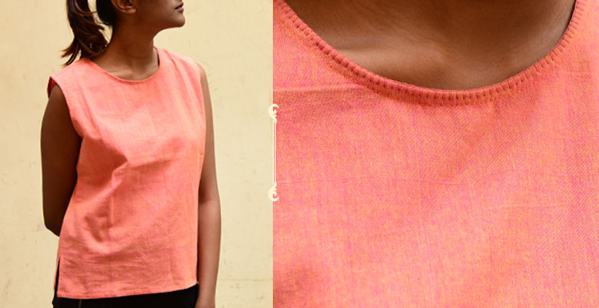 छबीली ♠ Handwoven Cotton Top ♠ 9