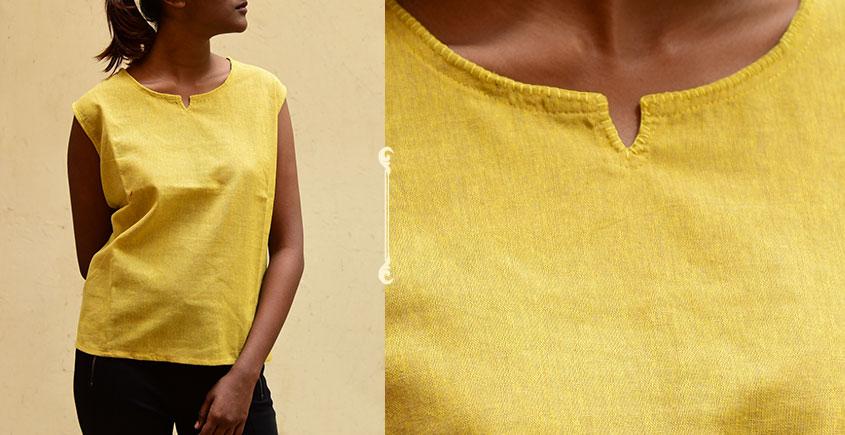 छबीली ♠ Handwoven Cotton Top ♠ 10