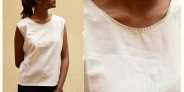 छबीली ♠ Handwoven Cotton Top ♠ 13