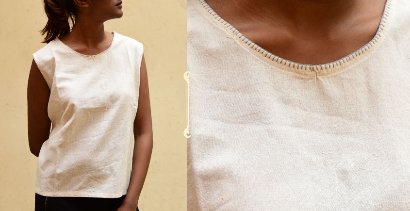 छबीली ♠ Handwoven Cotton Top ♠ 13