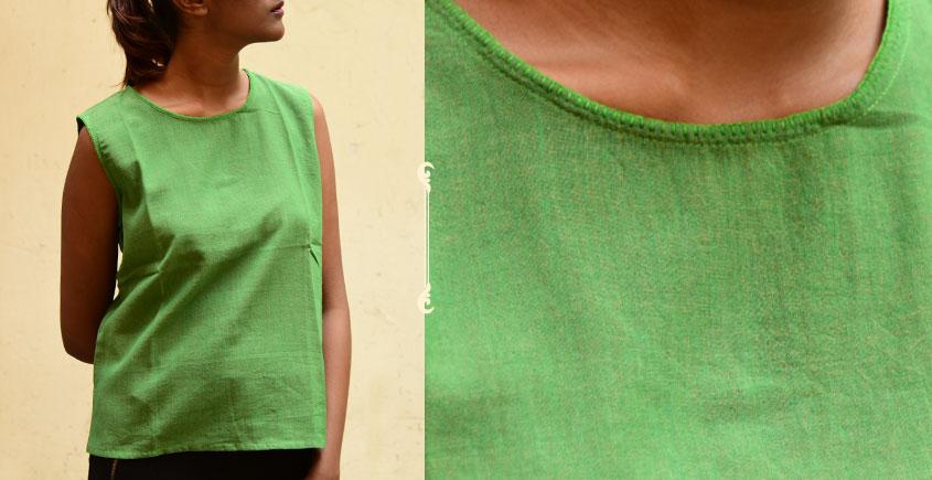 छबीली ♠ Handwoven Cotton Top ♠ 15