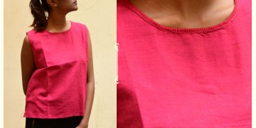 छबीली ♠ Handwoven Cotton Top ♠ 16