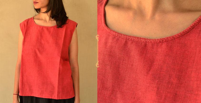 छबीली ♠ Handwoven Cotton Top ♠ 26