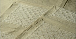 Applique double Bed Sheet ~ 11 ( 90 X 108 inch)