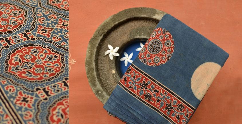 Chandni ✪ Cotton Ajrakh Saree ✪ A