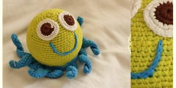 Guppy! ⚘ Crochet Toy { Octopus } ~ 9