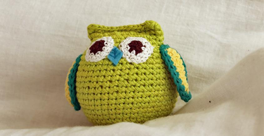 Guppy! ⚘ Crochet Toy { Owl }~ 7
