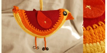 Guppy! ⚘ Crochet Toy { Hanging Bird }~ 8