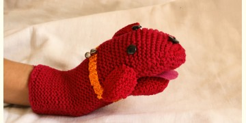 Guppy! ⚘ Crochet Toy { Dog Puppet } ~ 10