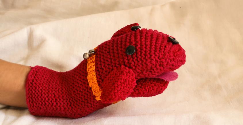 Guppy! ⚘ Crochet Toy { Dog Puppet } ~ 10