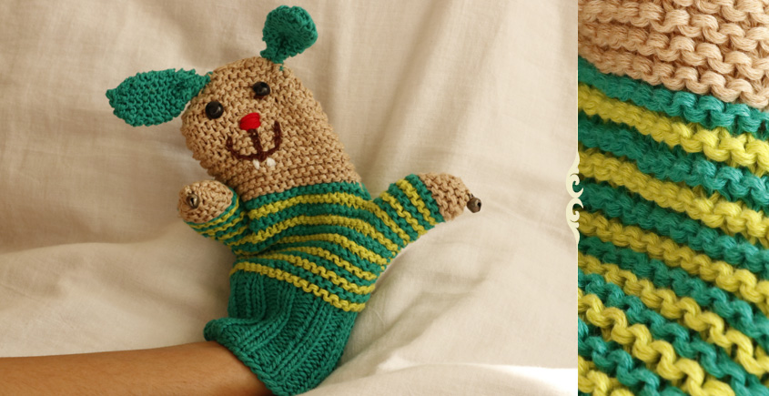Guppy! ⚘ Crochet Toy { Bunny Puppet } ~ 12