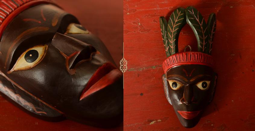 Wooden Mask ⚙ Tribal man ⚙ 3