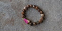 Gilded Pebbles ✶ Stone Jewelry ✶ Stones Charm Bracelet { 29 }