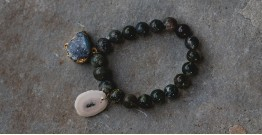 Gilded Pebbles ✶ Stone Jewelry ✶ Stones Charm Bracelet { 33 }