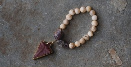 Gilded Pebbles ✶ Stone Jewelry ✶ Stones Charm Bracelet { 24 }