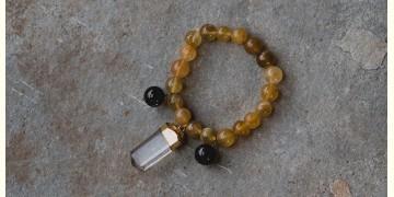 Gilded Pebbles ✶ Stone Jewelry ✶ Stones Charm Bracelet { 26 }