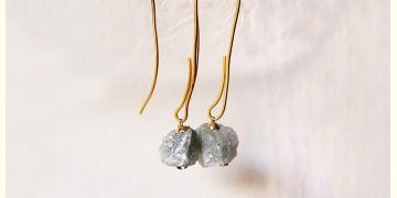 Gilded Pebbles ✶ Stone Jewelry ✶ Umbrella Loop Earrings { 2 }