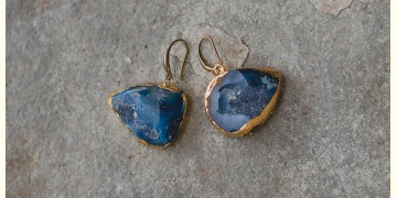 Gilded Pebbles ✶ Stone Jewelry ✶ Eyes Stones Earrings { 6 }