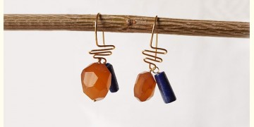 Gilded Pebbles ✶ Stone Jewelry ✶ Summer-minimal stones earrings { 9 }