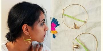 Gilded Pebbles ✶ Stone Jewelry ✶ Swan Earrings { 3 }