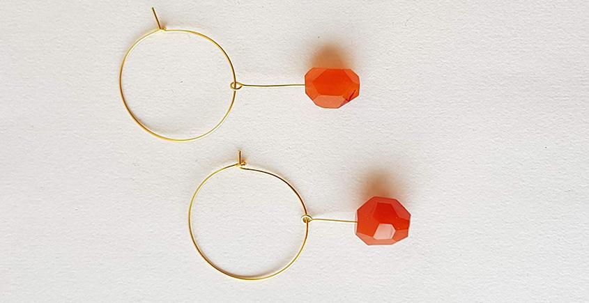Meera ✺ Stone Jewelry ✺ Birdy Earrings { 15 }