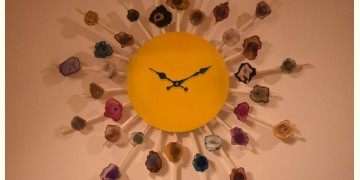 Meera ✪ Stone Jewelry ✪ Lavish Stones Wall clock ✪ 24