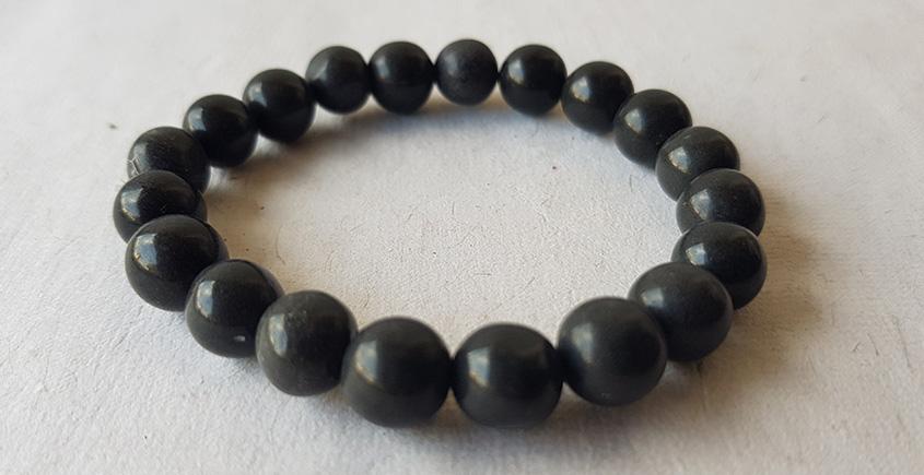 Meera ✺ Stone Jewelry ✺ Black Beaded Bracelet ✺ 32