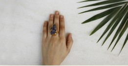 Meera ✺ Stone Jewelry ✺ Volanic Ring { 17 }