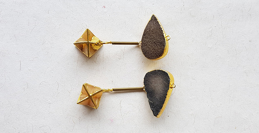 Meera ✺ Stone Jewelry ✺ Star Earrings { O }