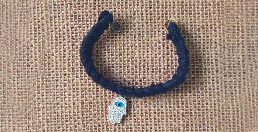 Bunched Together ✪ Stone Jewelry ✪ Evil eye bracelet { 9 }